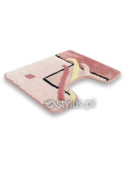 Dywaniki łazienkowe Oceanica różowe 4