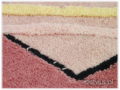 Dywaniki łazienkowe Oceanica różowe 8